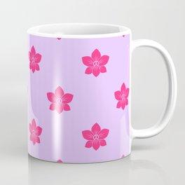 Pink orchid pattern Coffee Mug