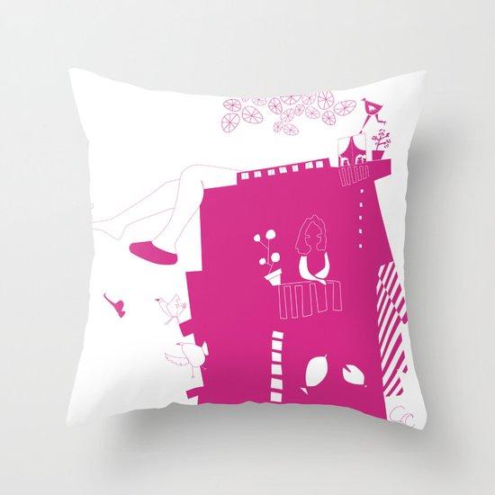 lo-cura Throw Pillow