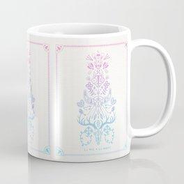 La Vie + La Mort: Rose Quartz & Serenity Ombré Coffee Mug