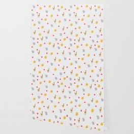 kids animal pattern Wallpaper