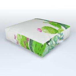 Cactus Garden II Outdoor Floor Cushion