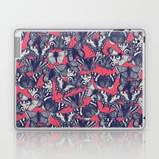 butterfly strawberry pink Laptop & iPad Skin