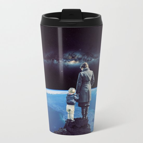 Where the moments are growing up! Metal Travel Mug