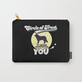 Circle Of Trust Bernese Mountain Dog I Bernese Carry-All Pouch