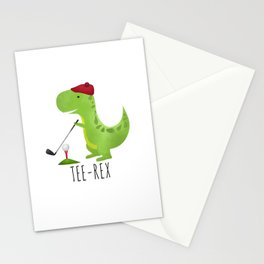 Tee-Rex Stationery Cards
