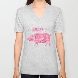 I'd Smoke That Unisex V-Neck