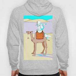 Women of the Earth Series: Woman of the Dessert and Camel Hoody