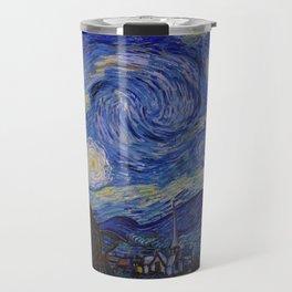 The Starry Night by Vincent van Gogh (1889) Travel Mug