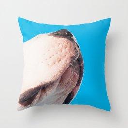 Petey's Snoot Throw Pillow