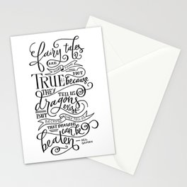 Fairy Tales are True Stationery Cards