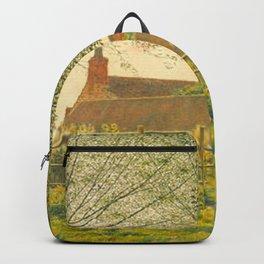 George Price Boyce - At Binsey, near Oxford Backpack