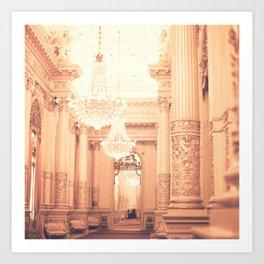 The Golden Room II Art Print