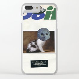 Just DO IT ! Clear iPhone Case