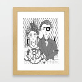 Party People Framed Art Print