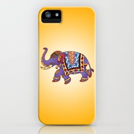 Dancing Indian Elephant iPhone Case
