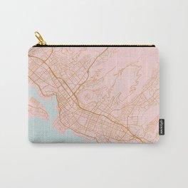 Honolulu map, Hawaii Carry-All Pouch