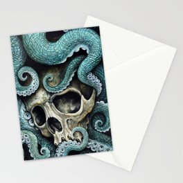 Please my love, don't die so far from the sea... Stationery Cards