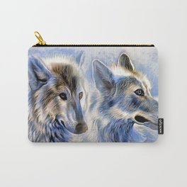 Ice Wolf Carry-All Pouch