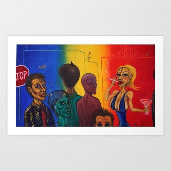 """Los Angeles"" Art Print"