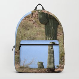 A Cacti in the Desert Backpack