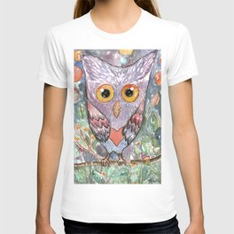 Colorfull Owl T-shirt