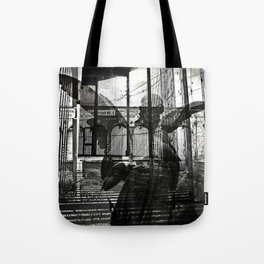 The unexpected arrival of the angels Tote Bag