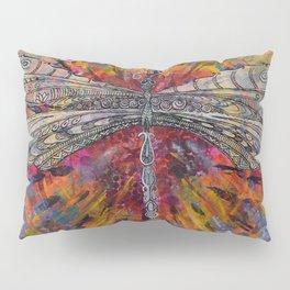 Mandala Dragon Pillow Sham