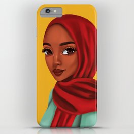 jamilah iPhone Case