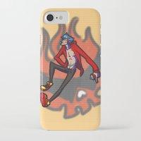 gurren lagann iPhone & iPod Cases featuring gurren lagann - kamina by gutter