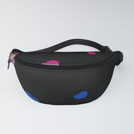 Chaotic Hearts, Pride Flag Series: Bisexual Fanny Pack