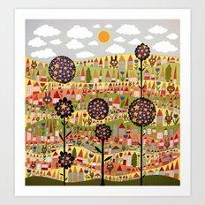 starflowers Art Print