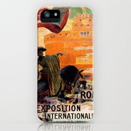 Rome 1911 world exposition iPhone Case
