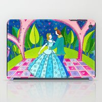 cinderella iPad Cases featuring Cinderella by Sandra Nascimento