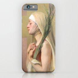 Saint Thecla Catholic Religious Art iPhone Case