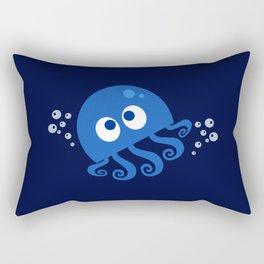 Bubbly Octopus Rectangular Pillow