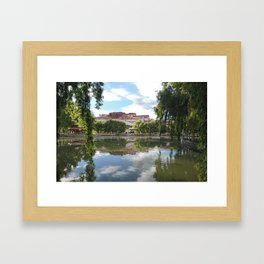 Potala Palace Tibet Framed Art Print