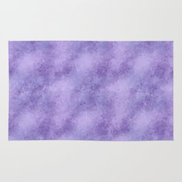 Violet Fragments Rug
