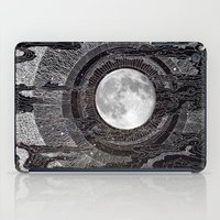 night iPad Cases featuring Moon Glow by brenda erickson