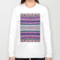 folk Long Sleeve T-shirts featuring FOLK by Vasare Nar
