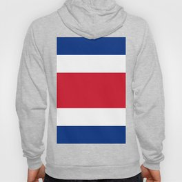 Costa Rica Flag Hoody