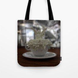 Literal Latte Art Tote Bag