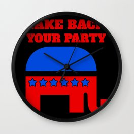 Take Back Your Party | Republican Wall Clock