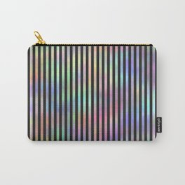 Black Strips. Fashion Textures Carry-All Pouch