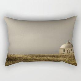Cabo Espichel at sunset Rectangular Pillow