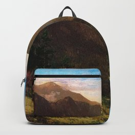 Mount Lafayette - Franconia Notch, New Hampshire by Thomas Hill Backpack