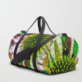 Prickly flower to you Duffle Bag