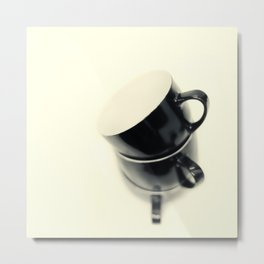 Longing for coffee.... Metal Print