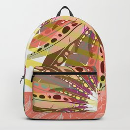 Bohemian Feather Backpack