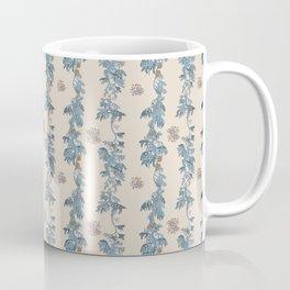 Secret Dancers in Cream ( leafy sea dragon in blue and cream ) Coffee Mug