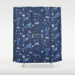 Nemophilist Shower Curtain